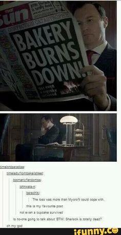 BTW, Sherlock is totally dead