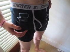Insulin pump briefs great for the guys build in pocket for your pump