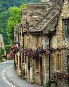 Castle Combe in Wiltshire was the setting for the film 'The War Horse'.