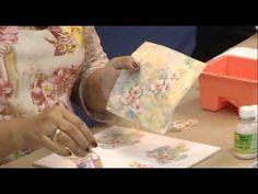Pintura de Caixa Recortada a Laser e Decoupagem com Adesivo Permanente - YouTube