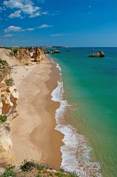 Vau Beach - Portimão, Algarve, Portugal - the beaches are beautiful (the Atlantic is a little chilly!)