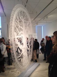 Papercut! The Incredible Psaligraphy of Karen Bit Vejle at The American Swedish Institute