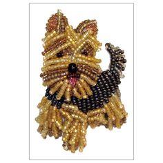 Beading Patterns Free, Jewelry Patterns, Bead Patterns, Bracelet Patterns, Free Pattern, Dog Jewelry, Beaded Jewelry, Beaded Brooch, Handmade Jewelry