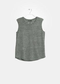 T-shirt jaspé