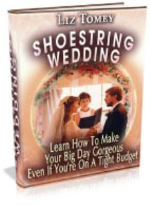Shoe String Wedding. All it takes is a little thought. A little creativity. And solid planning to pull off a wedding that will have your friends and family weeping tears of joy. If creativity and planning haven't been your strong points in the past.  rom0.04