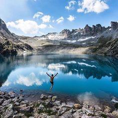 Wildsee, Pizol, Switzerland.  by: @juliedayer Share your story: #RoamThePlanet