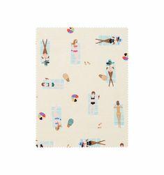 Sun Girls (Natural) Screen Printed 100% Cotton