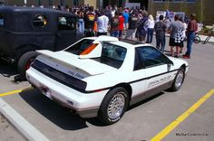 MSCC looks at an Indy Pace Car Edition '84 Fiero. Read more: http://mystarcollectorcar.com/october-2015-a-1984-pontiac-fiero-with-an-indy-500-heritage/ #84Fiero #Pontiac