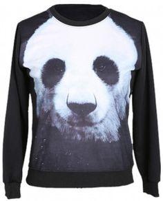 1fd269e93a52 Panda Face Sweatshirt Panda Head