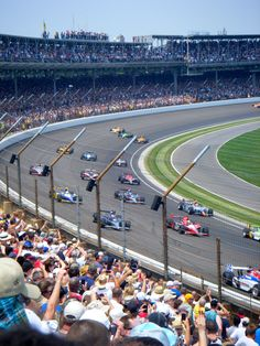 Indianapolis 500 Motor Speedway, IN - growing up in Indianapolis I remember my Dad me there as a kid.