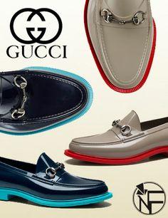 Waterproof Gucci Rubber Horsebit Loafer