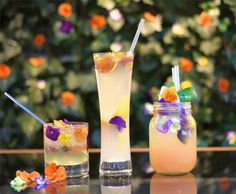 Celebrate Spring with our Edible Flower cocktails at London Belgraves
