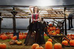 look halloween elegante