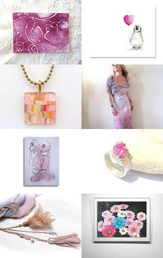 Lovely pink world.. by Juri Kim on Etsy--Pinned with TreasuryPin.com