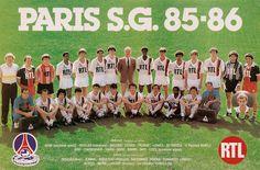 PSG 1985-86.