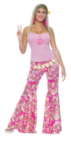 Outfit For Womens Gallery womens pink flower power hippie pants costumes for women Outfit For Womens. Here is Outfit For Womens Gallery for you. Outfit For Womens womens pink flower power hippie pants costumes for . 70s Outfits, Hippie Outfits, Pink Outfits, Rave Outfits, Style Année 70, Bell Bottom Trousers, Pink Ladies, 70s Costume, Costume Ideas