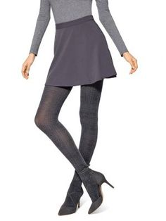 cce96f37f54 Hue - Women s Plaid Sweater Tights