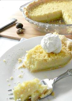 Buttermilk Pie - Easy, quick and delicious #SundaySupper.  This old fashioned pie will delight your family at the end of the meal.