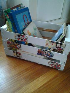 Cajon librero infantil