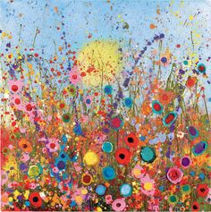 @Yvonne Coomber. UK Flower Artist competition, celebrating the 50th anniversary of the Summer of Love