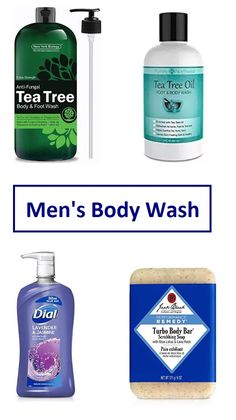 Man's Body Cleansers for all tastes! --- #bodywash #menwash #menpersonalcare #menskincare #mencare #menbodywash #mencleansers