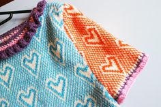 Upcycled knitwear by designer Katie Jones