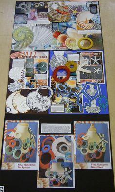 higher final outcome A Level Art Sketchbook, Sketchbook Layout, Textiles Sketchbook, Sketchbook Ideas, Roy Lichtenstein, Pop Art, Advanced Higher Art, A Level Textiles, Art Portfolio