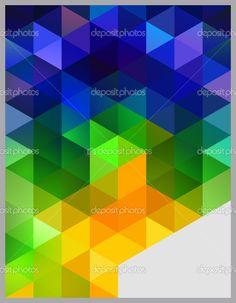Isometric Abstract Background — Stock Vector © blinkblink #
