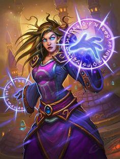 Violet Illusionist - Card - Hearthstone