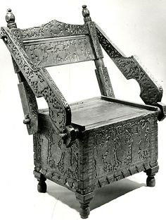 Armchair; late 15th Century; Etsch river valley - Northern Italy; MET