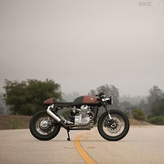 Has the humble Honda CX500 ever looked so beautiful? This amazing cafe racer is a garage build from Santa Cruz, California.