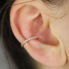Tiny Conch Hoop Ear Cuff, Conch Ring, Slim Hoop Earring, Cartilage Ear Cuff, Conch Cz Ear Cuff, Huggie Cz Ear Cuff, Non Pierced Cz Ear Cuff Earrings Photo, Glass Earrings, Heart Earrings, Etsy Earrings, Hoop Earrings, Creative Gifts, Creative Ideas, Conch Hoop, Etsy Business