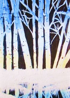 Black Winter Alders ACEO Limited Edtion by TheVenusCollection, $6.49