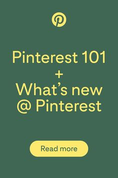 Want to find out more about how to use Pinterest for your business or blog. Learn how to set up your profile, grow your audience and about the latest product updates on the platform.