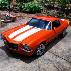 '71 Camaro orange