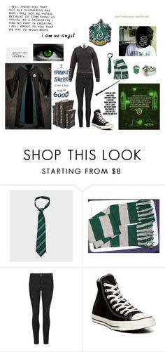 """""""Albus Severus Potter"""" by bandgirl1013 ❤ liked on Polyvore featuring MANGO, Indigo Collection, Converse, men's fashion and menswear"""