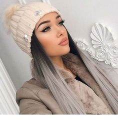 Inspiring Pastel Hair Color Ideas – My hair and beauty Grey Balayage, Balayage Hair, Hair Inspo, Hair Inspiration, Ombre Hair Color, Ash Ombre Hair, Red Copper Hair Color, Silver Ombre, Colored Hair