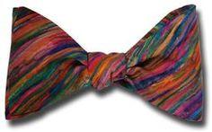 Liberty of London Art Stripe Bow Tie