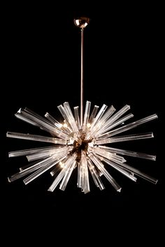 DR chandelier idea - Chameleon Fine Lighting Sput Rectangular