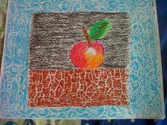 Artful Trini: Apple On A Wall