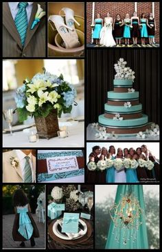 """Image detail for -Bouquet"""" Guest Book - Brown/Turquoise - Table Decorations, Wedding . Charcoal Grey Weddings, Dark Grey Weddings, Charcoal Gray, Blue Weddings, Teal Country Weddings, Turquoise Weddings, Fall Wedding, Dream Wedding, Wedding Ideas"""