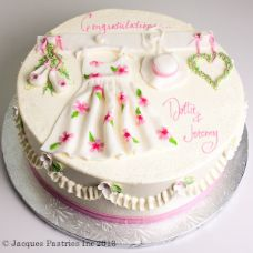 Spring Gown Cake