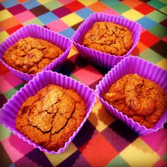 #healthy #pumpkin #protein muffins #glutenfree #dairyfree #sugarfree