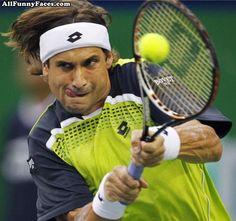 Crazy Tennis Face