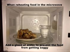 No more soggy reheated pie, pizza or any other food that is supposed to be crunchy