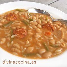 Potaje de alubias con arroz » Divina CocinaRecetas fáciles, cocina andaluza y del mundo. » Divina Cocina