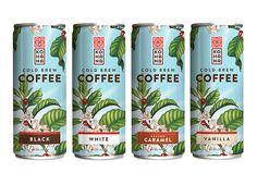 Kohana Coffee package design by Helms Workshop