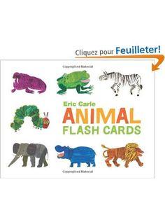 Animal Flash Cards: Amazon.fr: Eric Carle: Livres anglais et étrangers
