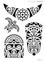 Polynesian Designs And Patterns | Look at all the Tattoo Flash Drawings issues