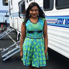 It's spring in the fall in @marykatrantzou #themindyproject
